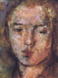 Portrait of Olga 1941 - larger image