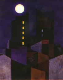 City at night 1957