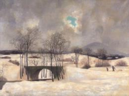Zima u Holan 1950 - zvìtšit obrázek