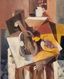 Zátiší s houslemi 1944